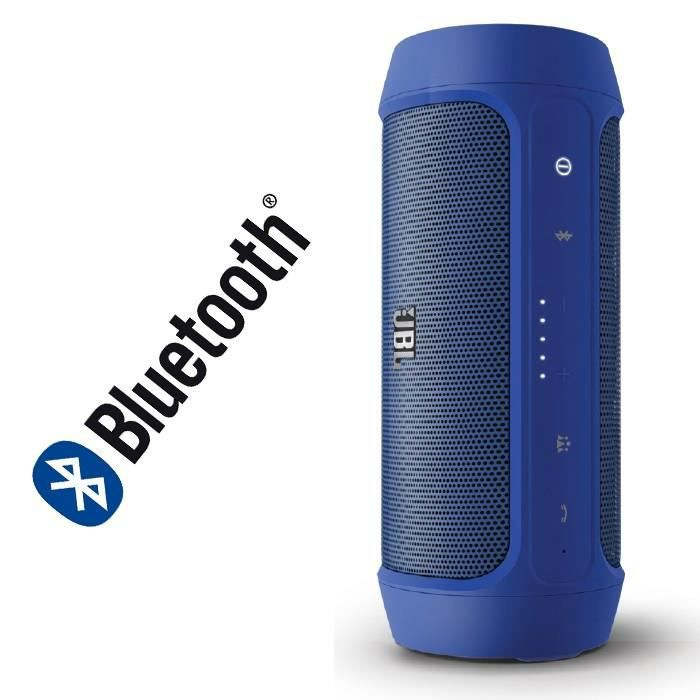 jbl charge 2 enceinte bluetooth portable bleu enceinte. Black Bedroom Furniture Sets. Home Design Ideas