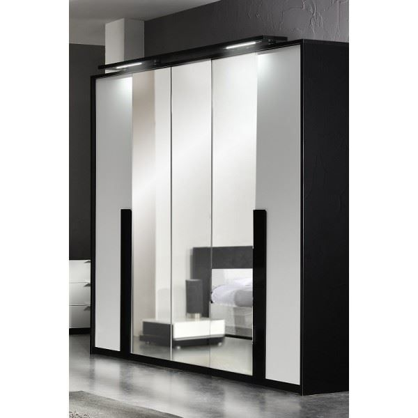 armoire de chambre design maison design. Black Bedroom Furniture Sets. Home Design Ideas