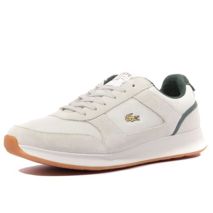 ca9cb6498b Joggeur 317 2 Homme Chaussures Beige Lacoste Beige Beige - Achat ...