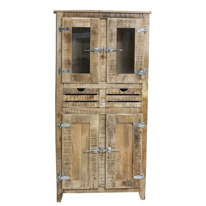 armoire 2 portes swithome frigo bois naturel achat vente armoire de chambre armoire 2 portes. Black Bedroom Furniture Sets. Home Design Ideas