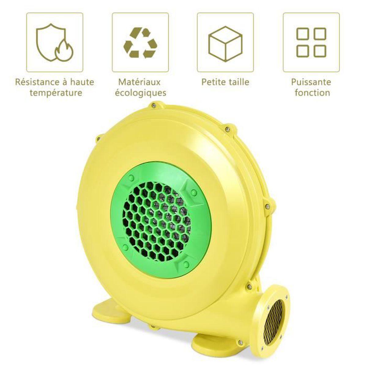 Min Ventilateur Gonflable Pompe Gonflable de Ventilateur d/'Air Souffleur 250W Soufflerie Gonflable Vitesse 2800r