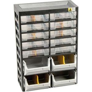 CASIER POUR MEUBLE Casier 10 tiroirs à vis VARIOPLUS BASIC D21