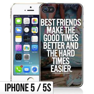 Coque iphone 5s best friend - Cdiscount