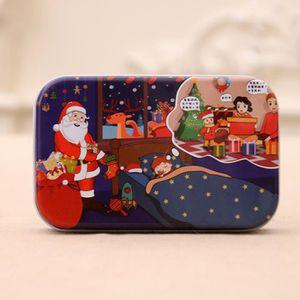 PUZZLE Cadeau de Noël pour les enfants du père Noël de br