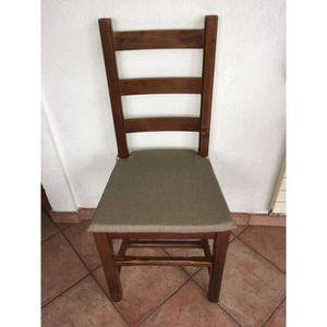 COUSSIN DE CHAISE  ensemble coussin de chaise - galette de chaise adm