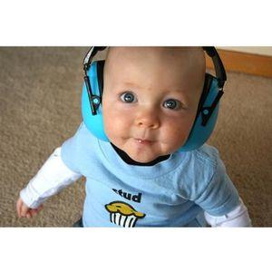 CASQUE ENFANT Casque anti-bruit bébé bleu BANZ