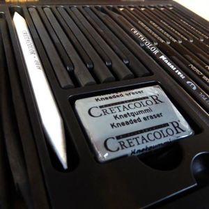 KIT DE DESSIN Coffret graphite Cretacolor - black box
