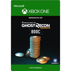 EXTENSION - CODE DLC Ghost Recon Wildlands: 800 GR Crédits pour Xbo