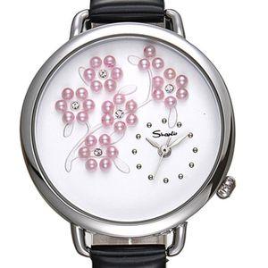 MONTRE Tendance Pearl étanche de Creative Diamant Quartz