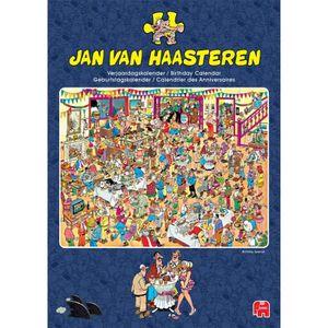CASSE-TÊTE Jan Van Haasteren Anniversaire / Calendrier Annive