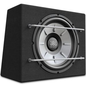 SUBWOOFER VOITURE JBL - Caisson clos compact - STAGE1200B