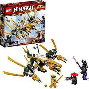 ASSEMBLAGE CONSTRUCTION LEGO® NINJAGO® Le dragon d'or Jeu de construction,