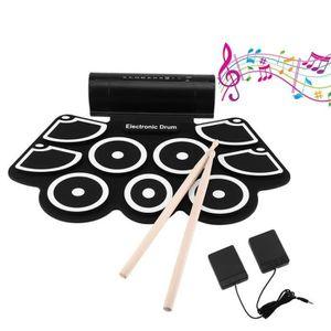 TAPIS DE BATTERIE Batterie électronique avec pad de Percussion, port