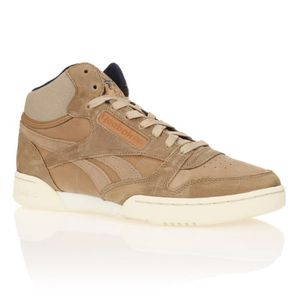724cbdd343f29 REEBOK Baskets Cl Exertion Mid Homme Beige - Achat   Vente basket ...