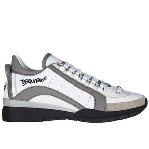 Cuir Blanc 551 Chaussures De Sport Dsquared2 HtsY6GS0A
