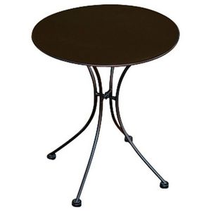 Table ronde fer forge