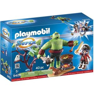 UNIVERS MINIATURE PLAYMOBIL 9409 - Super 4 - Ogre Géant