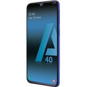 SMARTPHONE Samsung Galaxy A40 Double Sim Débloqué Bleu