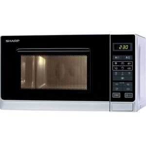 MICRO-ONDES Sharp Micro-ondes Solo 20 litres - Argent R-242INW