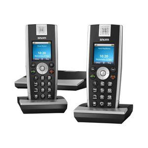Téléphone fixe snom m9 Téléphone sans fil VoIP DECT\GAP SIP + com