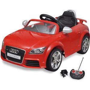VOITURE ELECTRIQUE ENFANT Voiture électrique pour enfant Audi TT RS rouge av