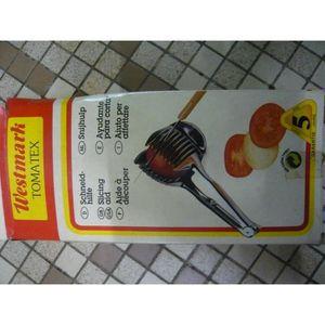 ECONOME - ZESTEUR Aide à découper tomates WESTMARK