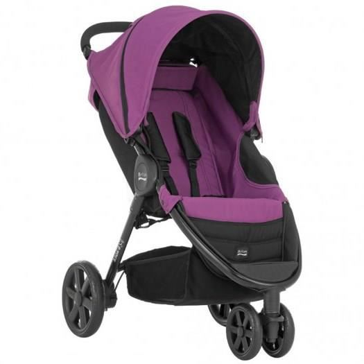 britax poussette b agile 3 cool berry berry achat. Black Bedroom Furniture Sets. Home Design Ideas