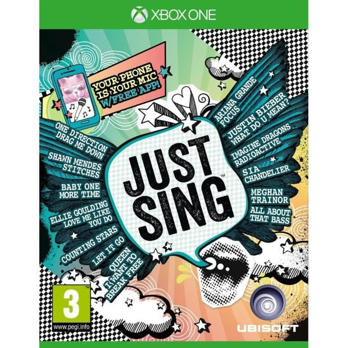 Just Sing Jeu Xbox One