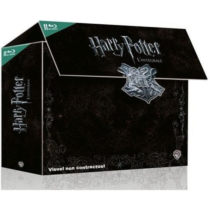 BLU-RAY DESSIN ANIMÉ Blu-Ray Harry Potter l'intégrale: Harry Potter ...