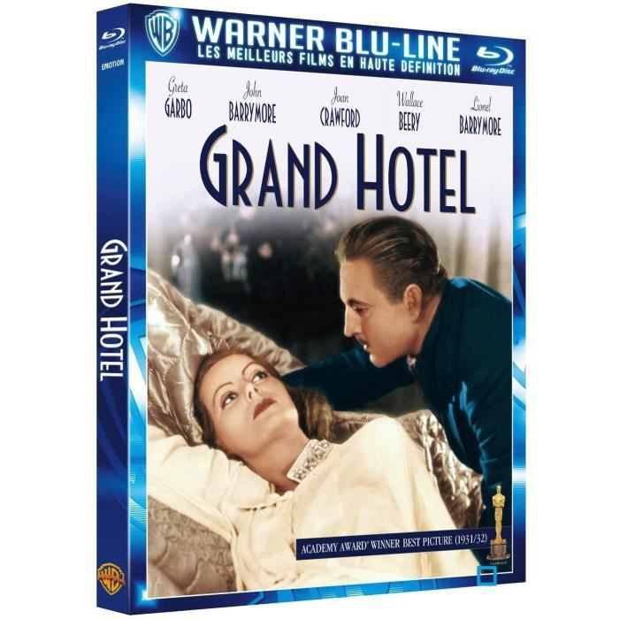 Blu ray grand h tel en blu ray film pas cher cdiscount for Grand hotel pas cher