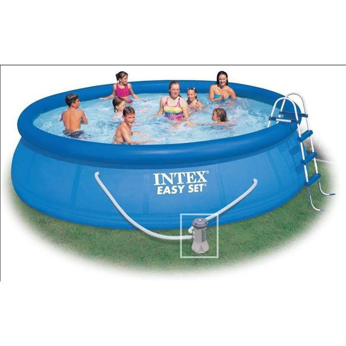 Kit piscine easy set x intex achat vente for Piscine easy set