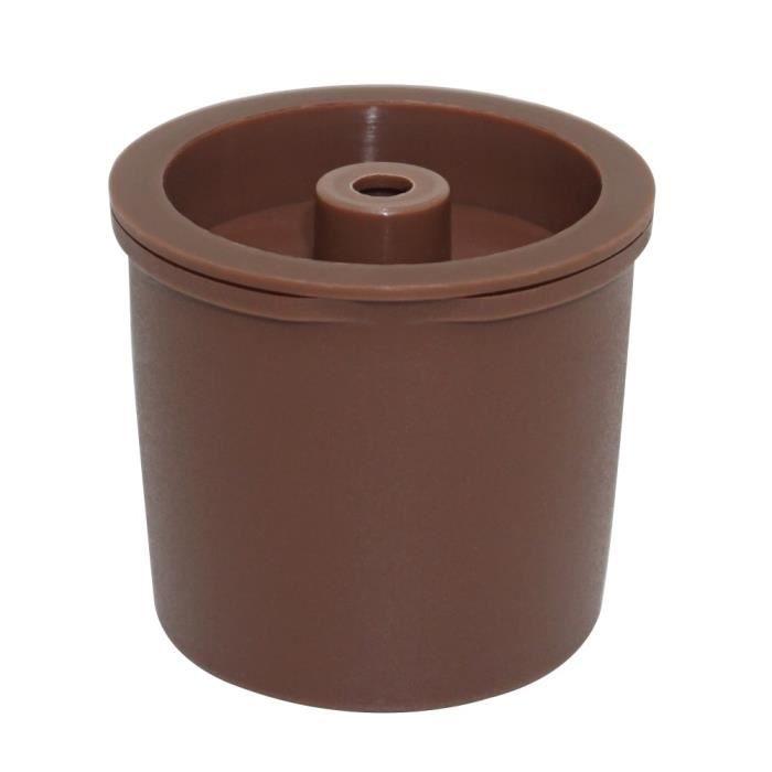Petit déjeuner - Café,Capsules de café réutilisables, compatibles avec Illy, rechargeables, filtres pour cuisine - Type brown