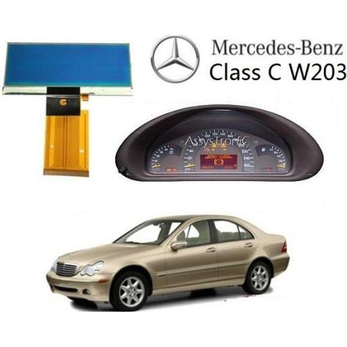 ECRAN LCD COMPTEUR ODB de MERCEDES W203 CLASSE C Skyexpert