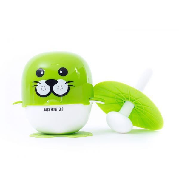 Kit d'ustensiles de cuisine Baby Monster I-Cook Seal Vert
