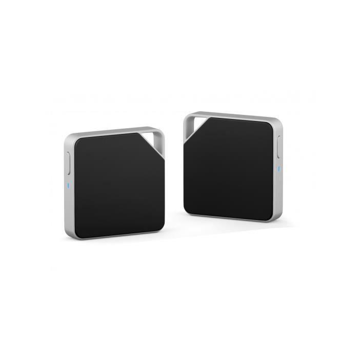 PXK AIR Disk Mini Disque Dur sans Fil Argent 64GB Wi-Fi