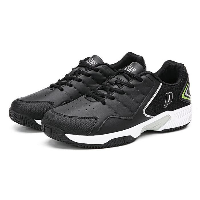 Baskets de tennis pour hommes chaussures d'entraînement professionnelles de mode-Noir