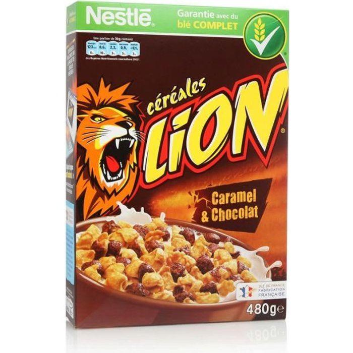 Nestlé Lion Céréales 480g