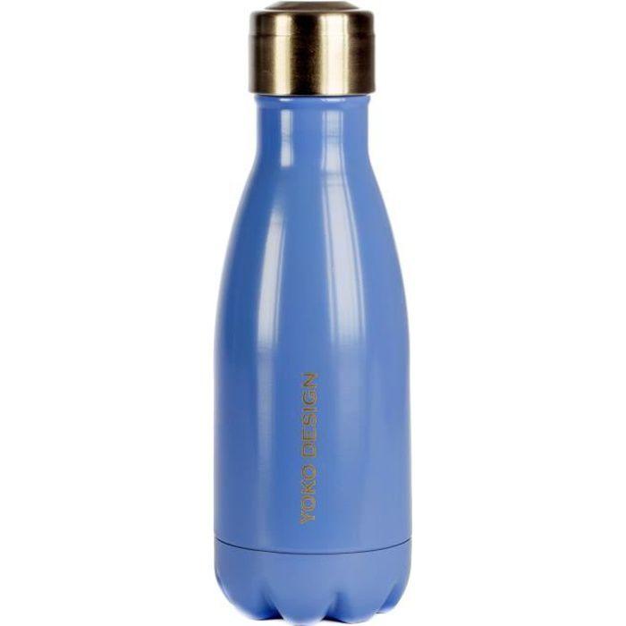 Bouteille isotherme YOKO DESIGN 260 ml coloris bleu lavande