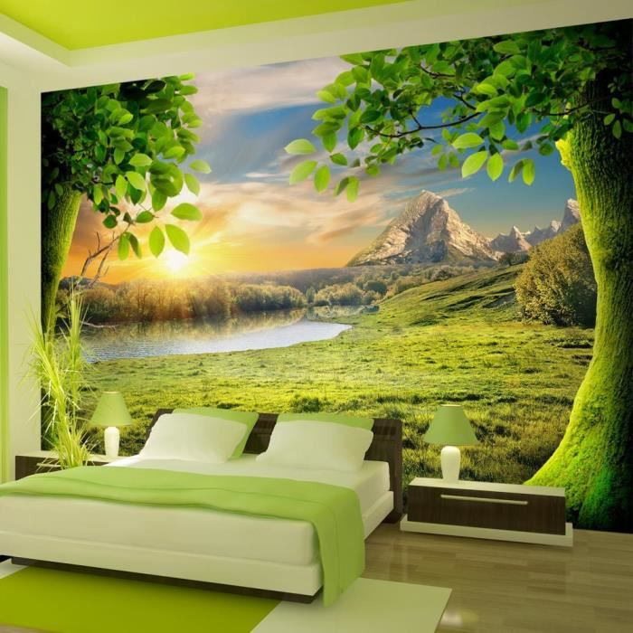 affiche g ante poster xxl nature 400x280 cm 8 l s achat vente papier peint cdiscount. Black Bedroom Furniture Sets. Home Design Ideas