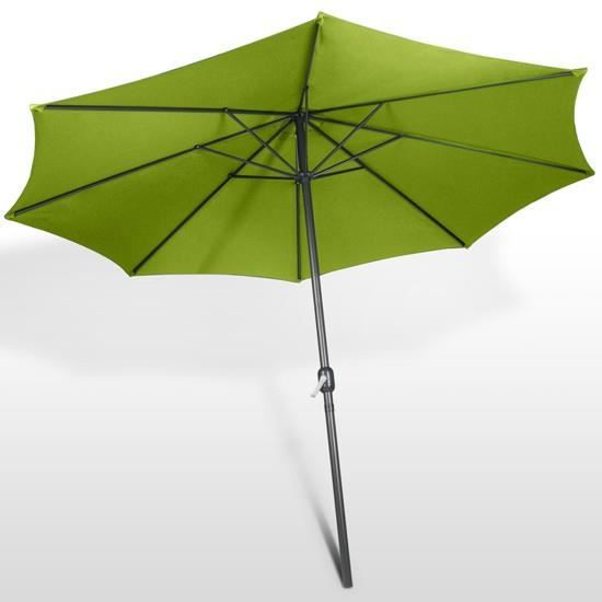 parasol parapluie terrasse ombrelle jardin 3 m achat. Black Bedroom Furniture Sets. Home Design Ideas