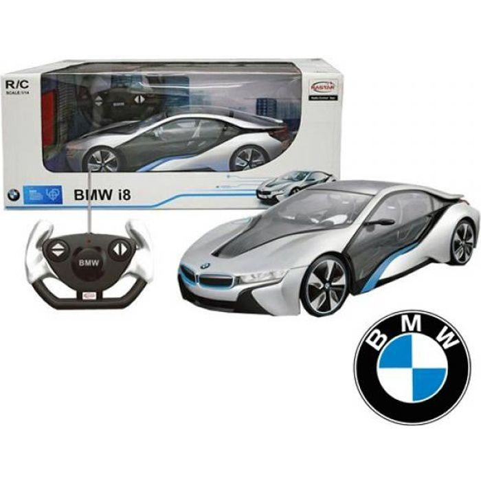 voiture de sport bmw i8 hybride t l command e achat. Black Bedroom Furniture Sets. Home Design Ideas
