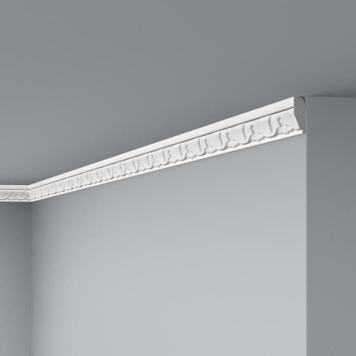 ROSACE de plafond POLYUR/ÉTHANE 1.010 diam/ètre 19,3 cm
