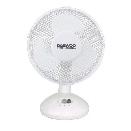 ventilateur de bureau 9 pouces 23 cm daewoo achat vente ventilateur soldes d t cdiscount. Black Bedroom Furniture Sets. Home Design Ideas