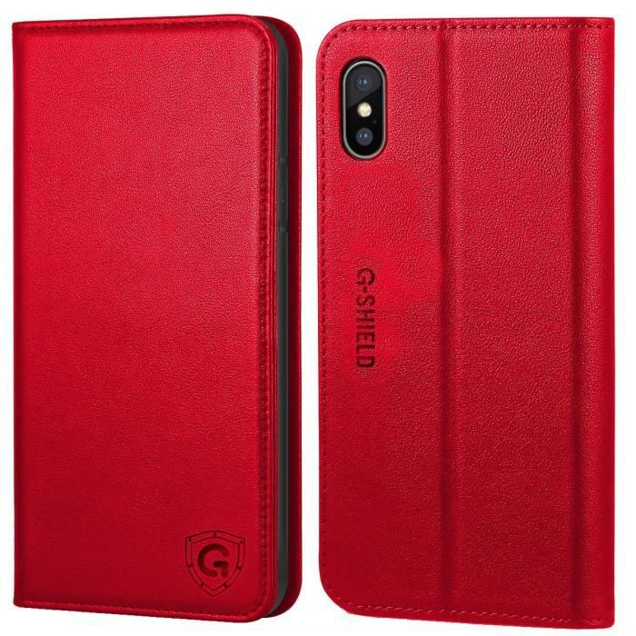 coque iphone x etuit porte feuille