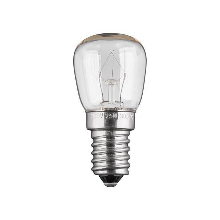 2 x 25 W SES E14 Petit bouchon à vis 300 ° de la marque Four Ampoule NEFF Bosh HOTPOINT