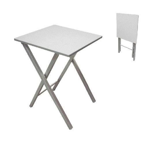 Table Pliante 48 Cm Gris Achat Vente Table De Cuisine Table Pliante 48 Cm Gris Cdiscount