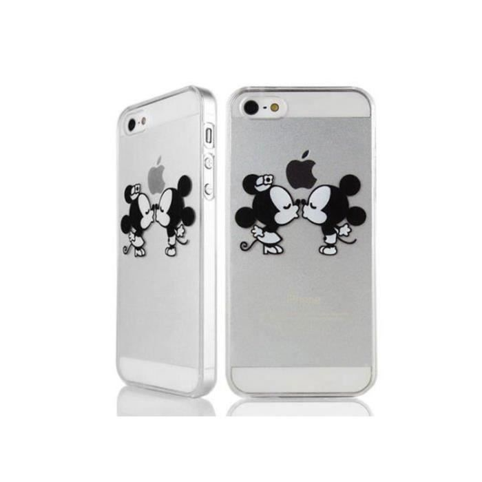 pour apple iphone 6c iphone 5se iphone 5 5s coque mickey mouse etui housse soft cristal. Black Bedroom Furniture Sets. Home Design Ideas