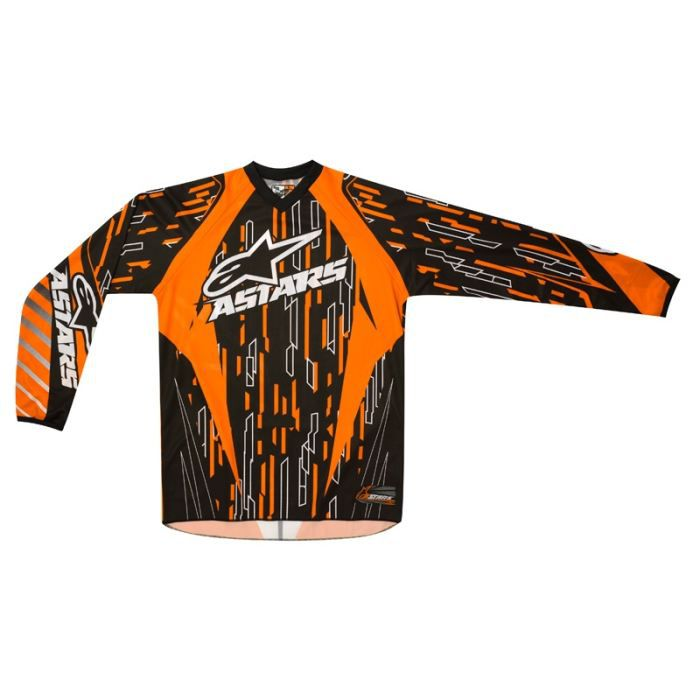 maillot moto cross alpinestars r achat vente blouson veste maillot moto cross alpinest. Black Bedroom Furniture Sets. Home Design Ideas