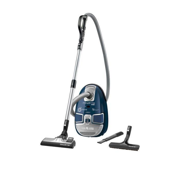 aspirateur rowenta force compact silencieux 2100 w achat. Black Bedroom Furniture Sets. Home Design Ideas