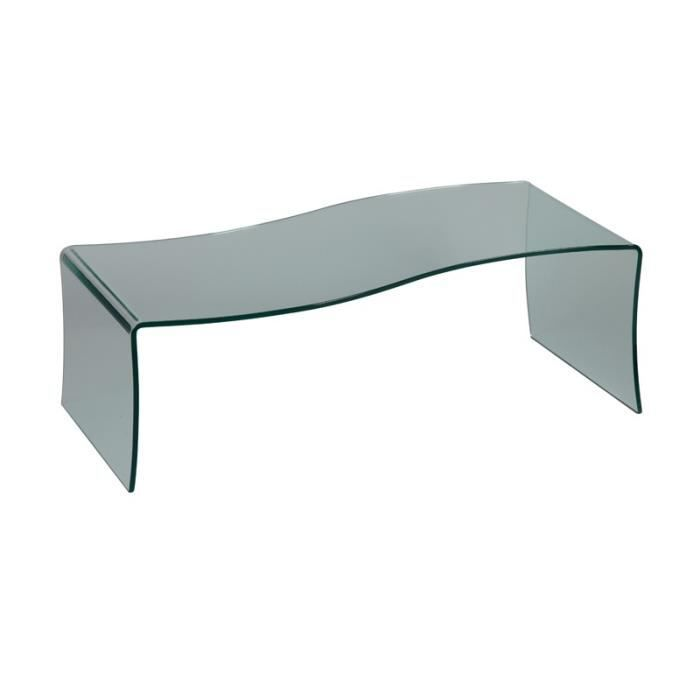 en l 51 verre S x 40 L BRIGHT Table forme basse x H 116 Y7bf6gy